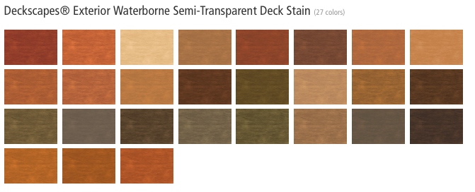 Olympic Deck Stain Color Chart Apps Directories